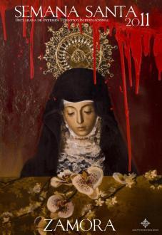 Cartel Semana Santa 2011. Ana Zaragozá.