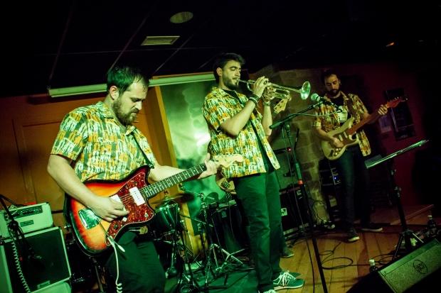 Los Ninchis durante su último concierto en La Cueva. Foto: Víctor Rodríguez