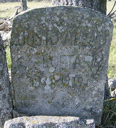 Lápida de Justo Alejo