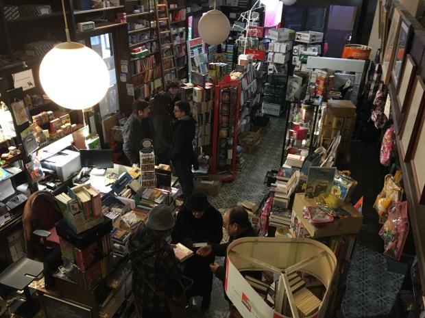 La librería Semuret, en Zamora. Emilio Fraile.