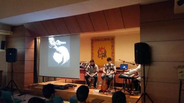 Presentación de Bellquiem. Foto Julio Eguaras.